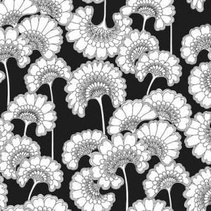 Florence Broadhurst wallpaper, Japanese Floral FB1462 - American Edit