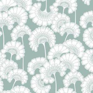 Florence Broadhurst wallpaper, Japanese Floral FB1464 - American Edit