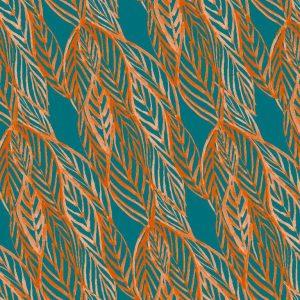 Sara Berrenson Leaves, Orange