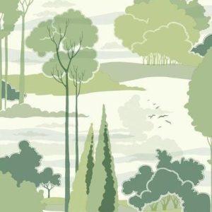 Florence Broadhurst wallpaper, Macarthur Park FB1480 - American Edit