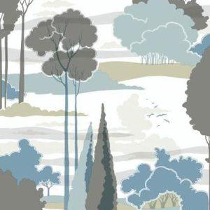 Florence Broadhurst wallpaper, Macarthur Park FB1481 - American Edit