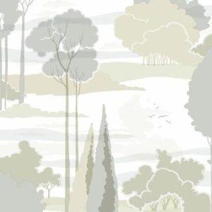 Florence Broadhurst wallpaper, Macarthur Park FB1482 - American Edit