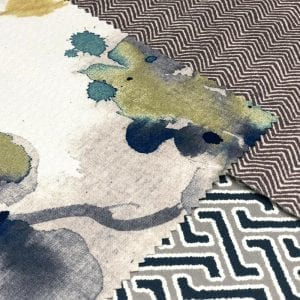 Narrow Width Patterned Top Of Bed