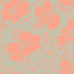Florence Broadhurst Spotted Floral, Carnation