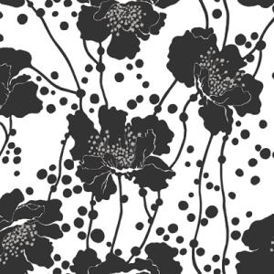 Florence Broadhurst Spotted Floral, Char