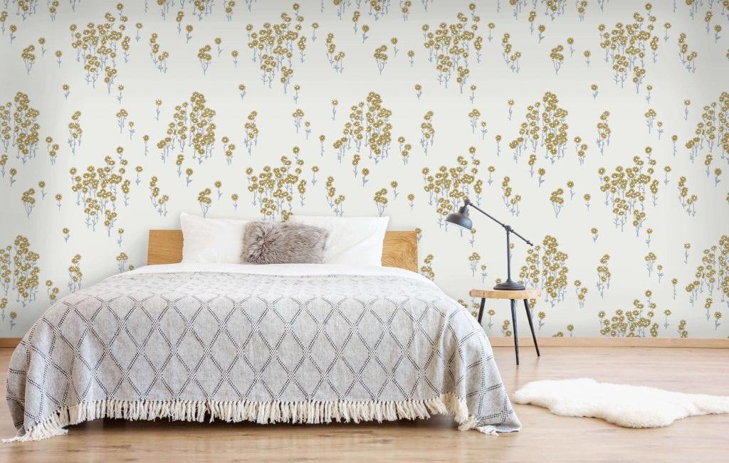 Scatter Daisy, Gumnut, Florence Broadhurst wallpaper