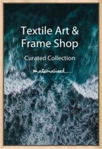 Textile Art & Frame Shop, Materialised