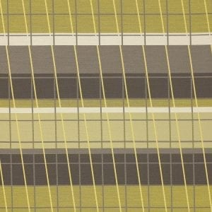 Lines On Stripes Chartreuse, UV resistant fabric