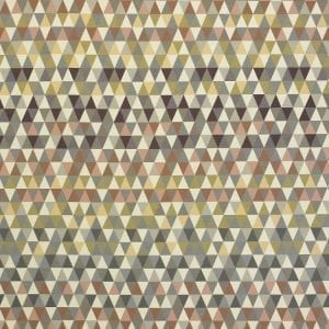 Triangles Tawny, outdoor textile