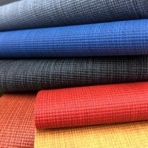 Natural Linen Faux Leather