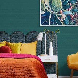 The Luxury Escape Collection velvet bedspread