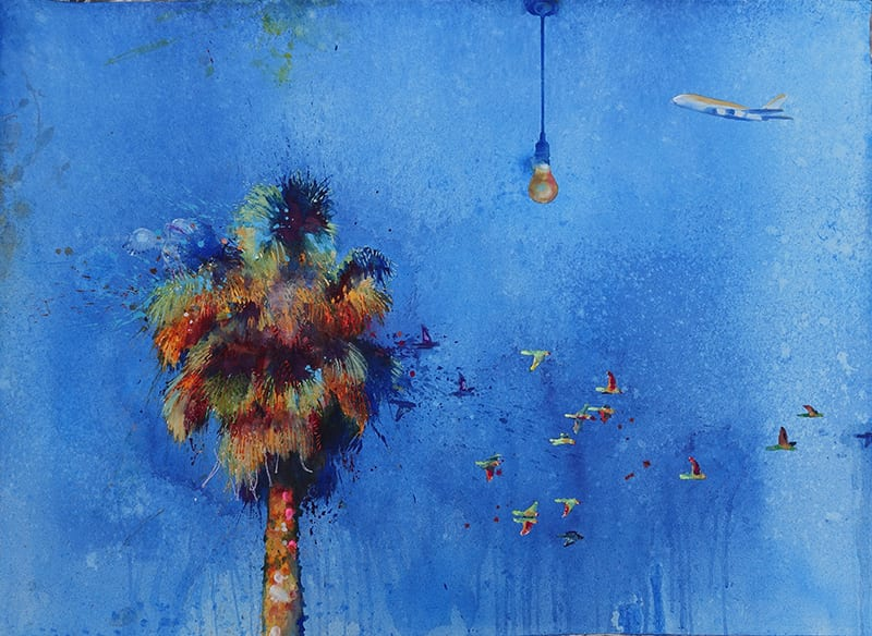 Robbi Wymer, The Big Blue