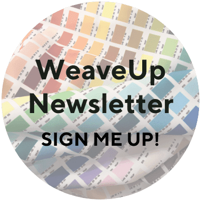 WeaveUp newsletter signup