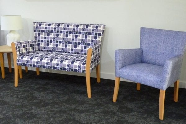 Wheller On The Park, aged care furnishing fabric