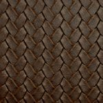 Interlace Burbon, embossed vinyl