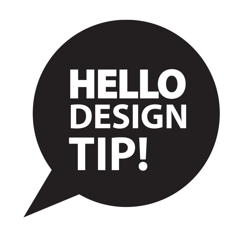 Hello WeaveUp design tip