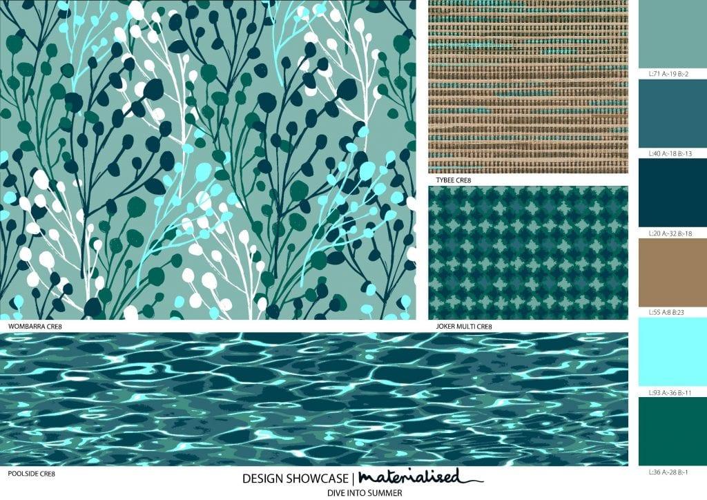 WeaveUp Design Showcase - A Dive Into Summer