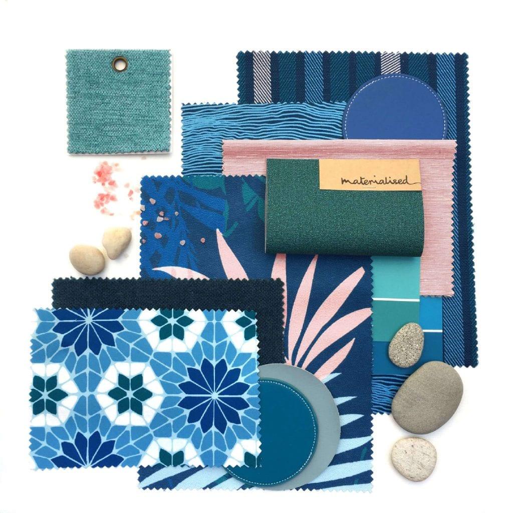 WeaveUp flat lay digital printing fabric
