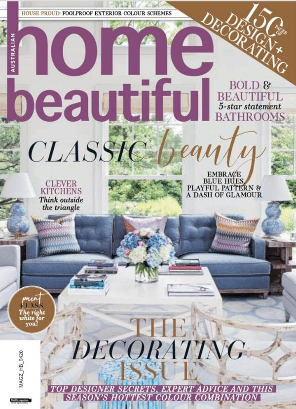 Home Beautiful April 2020 Cover