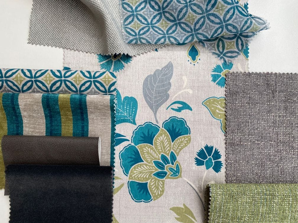 Java Collection, Teal with co-ordinates