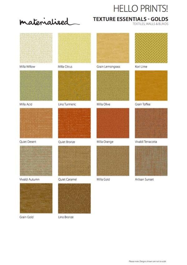 Texture Essentials Golds