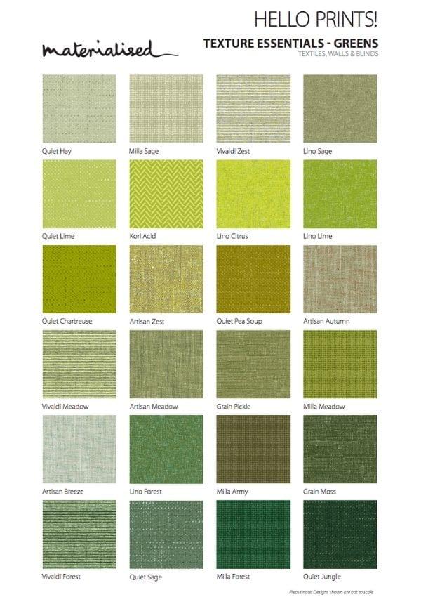 Texture Essentials Greens