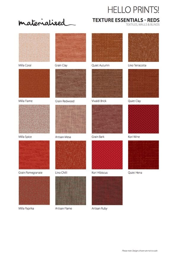Texture Essentials Reds