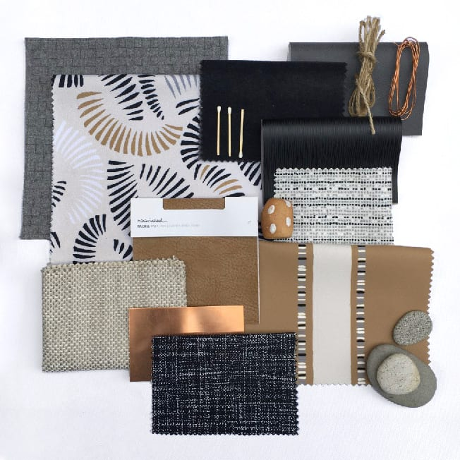Julie Pham, design flat lay