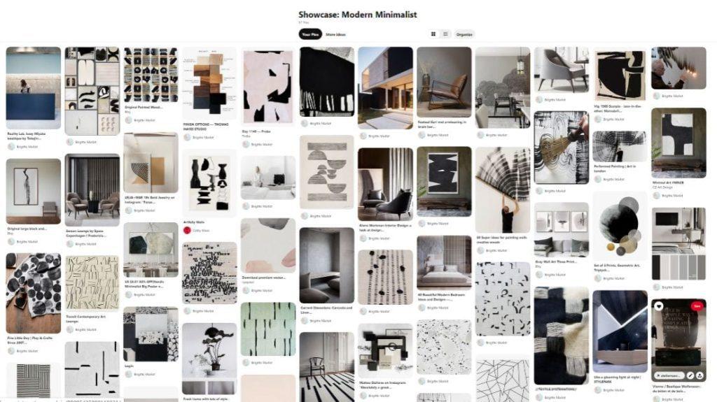 Modern Minimalist design inspo