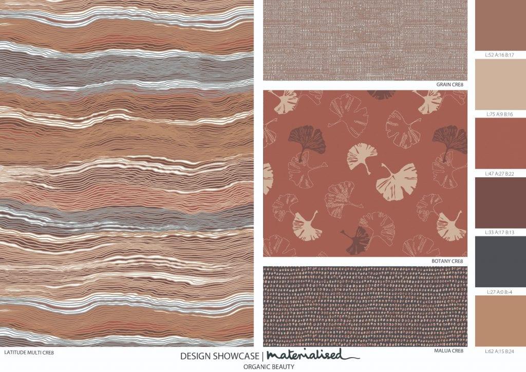 Brigitte's organic beauty WeaveUp prints