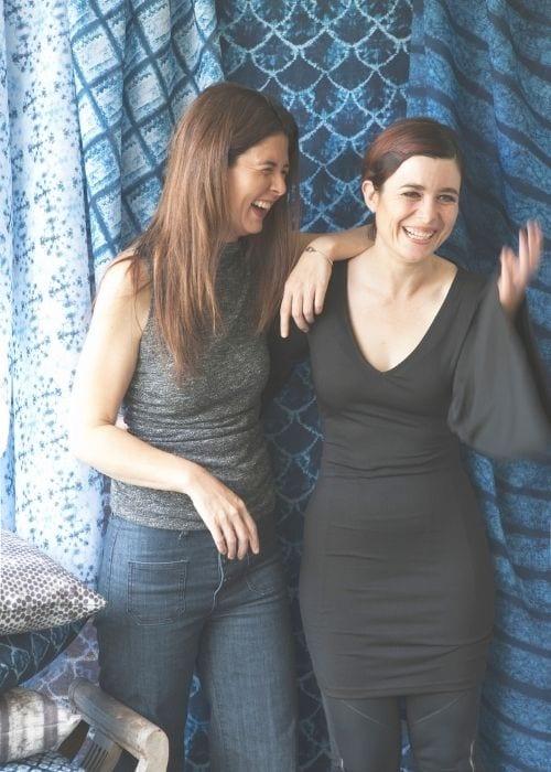 Karen and Pepa Shibori