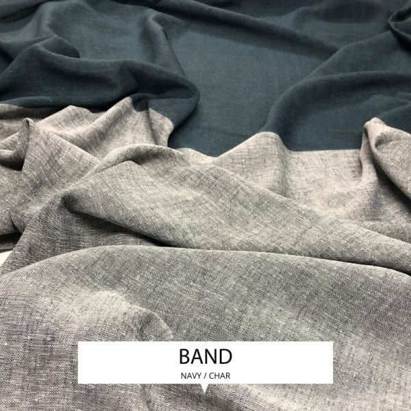 Ombre Drapery Sheer Band