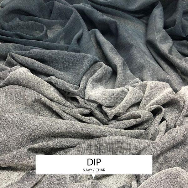 Ombre Drapery Sheer Dip