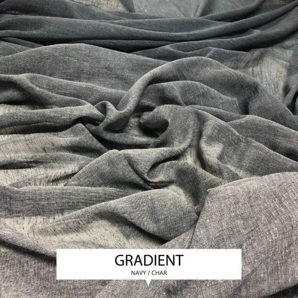 Ombre Drapery Sheer Gradient
