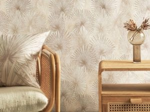 Nobilis Palm wall covering & furnishing textiles, Patricia Braune