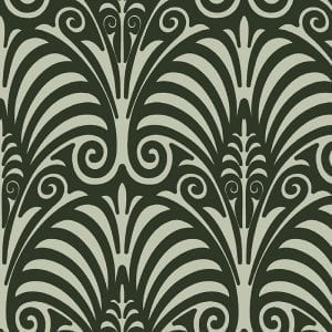 Deco Moderne, Willow Green