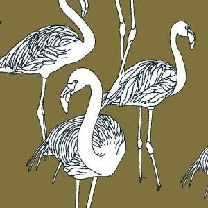 Deco Flamingo Goldie