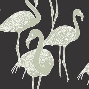 Deco Flamingo Jazz Revival