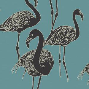 Deco Flamingo Nautilus, Grace Garrett
