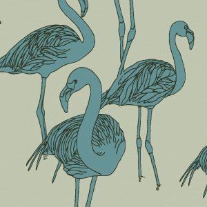 Deco Flamingo New World