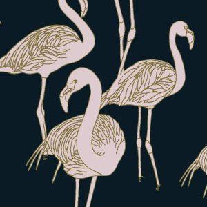 Deco Flamingo Rose de France