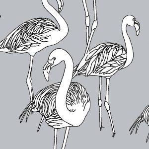 Deco Flamingo Spiral Staircase