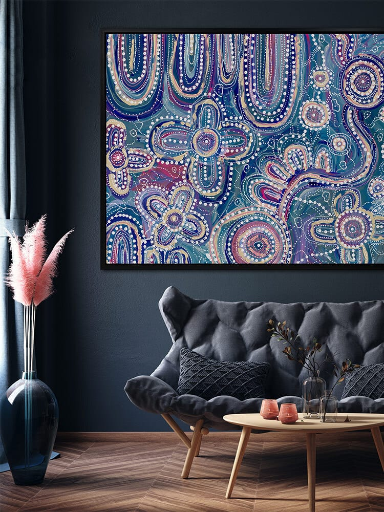 Yinaagang aboriginal wall art