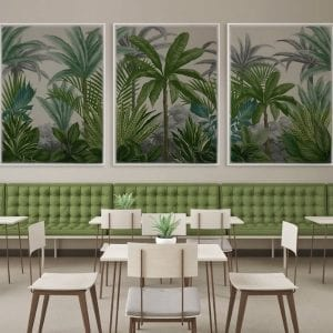 Tropical wall art