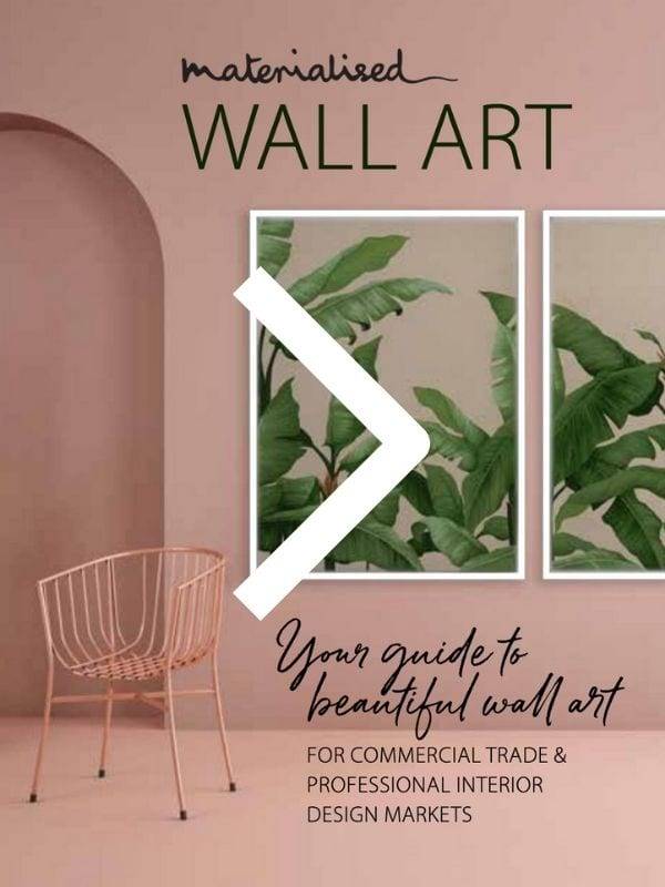 Wall Art Brochure Materialised