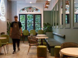 INSTEA cafe fitout