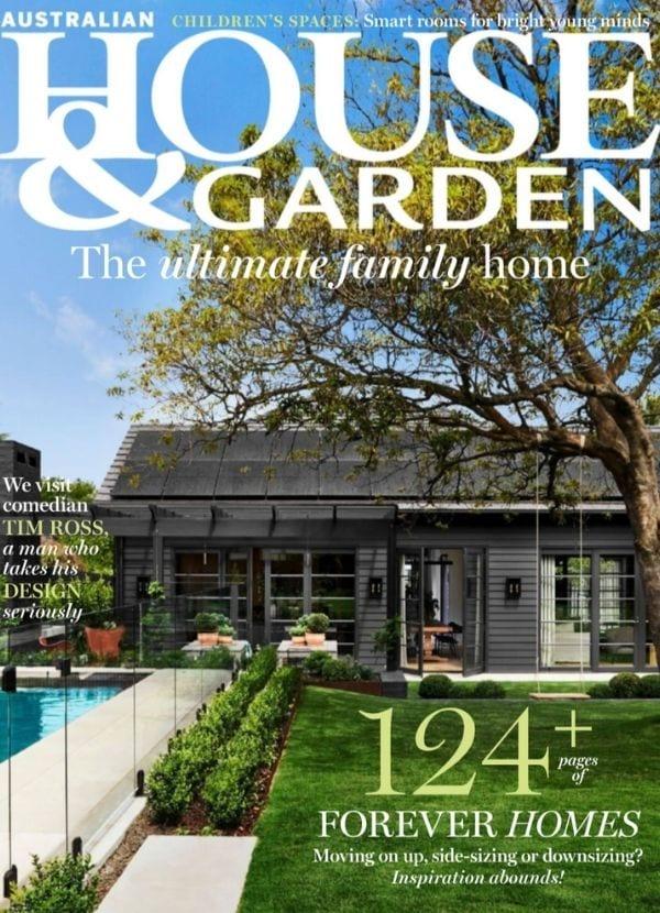 House & Garden Feb 2021 cover