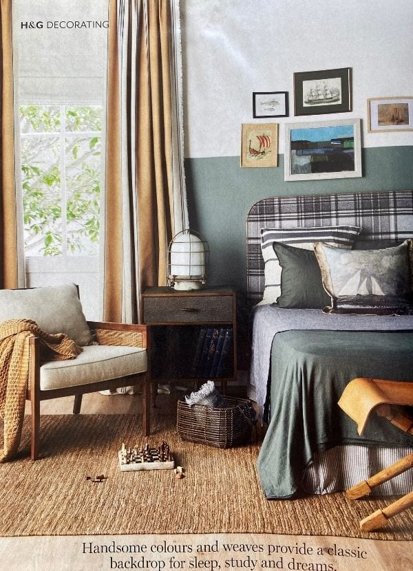 Sibella Court x Materialised Walker Tanguy curtain fabric H&G Feb 2021