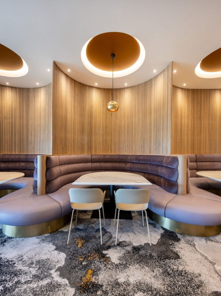 The Templestowe Hotel, Materialised fabric, hotel design