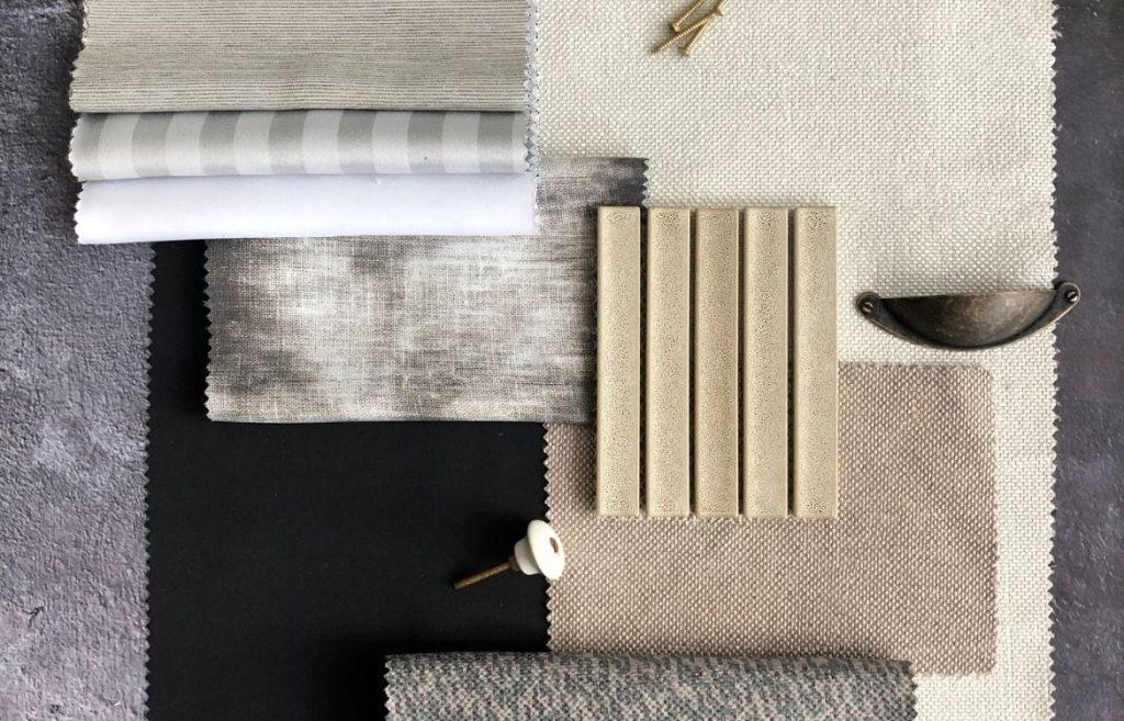 Hush light reduction drapery fabric
